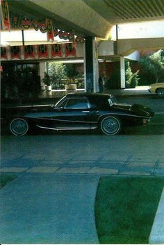 Elvis' Stutz Parked