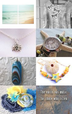 For Me- It's By the Sea.... Happy Summer 2016 by Jessica on Etsy--Pinned+with+TreasuryPin.com