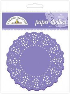 Lilac Doilies, 4.5'' | 75 ct - $4.99