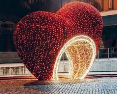 Outdoor Decorative Large Light Up Heart for Sale Outside Decorations, Light Decorations, Wedding Decorations, Marriage Hall Decoration, Cheap Airlines, Entrance Decor, Light Installation, Spray Painting, In This World