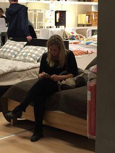 20. april 2016  Linda i Ikea