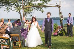 A Casual Waterside Wedding at the C.J. Brown Reservoir in Springfield, Ohio