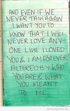 Real love....