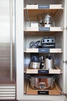 Creative Appliances Storage Ideas For Small Kitchens   Kitchen ...