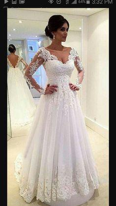 Wedding Dress.. #countrywesternweddings