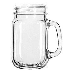 Libbey, Specialty Mugs & Glasses, Drinking jar.