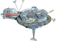Thunderbird 5. Graham Bleathham
