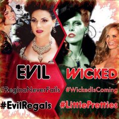 "@ohmygold85_: ""@OnceARegal79: Found this on pinterest #teamevil versus #teamwicked"" @Rebecca Mader @c t  pick a color!"