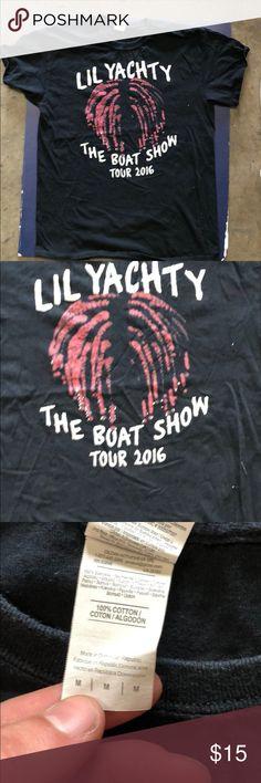3174f3b8dd1 Lil yachty concert t-shirt Lil yachty concert t shirt Supreme Yeezy Wheezy  Drake Rob Dr marteen yqchty Shirts Tees - Short Sleeve