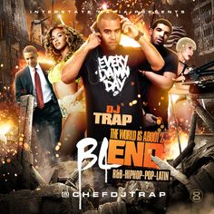 DJ Trap is giving you this blend mixtape titled 'The World Is About 2 Blend'.  This mixtape features popular music lyrics from artists such as Michael Jackson, Katy Perry, Alicia Keys, Mary J Blige and others blended over different instrumental tracks.  Download or have a listen for free.