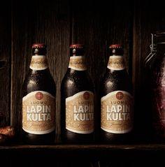 One of my favourite beers: Lapin Kulta (Lapland's Gold). Luomu, King - Tuukka Koski.