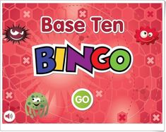 Base Ten BINGO is a fun educational learning activity for children to practice counting by one's, ten's, hundred's and thousand's. Learn place value while playing BINGO! Bingo, Decimal, Learning Activities, Activities For Kids, Year 2 Maths, Logic Games, Place Values, Educational Games, Base
