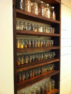 Heres a dream built in spice rack
