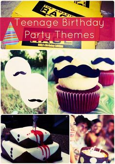 From solving a mystery, exploring the world and instantly growing mustaches, these teenage birthday party themes will entertain all teenagers!
