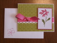 Paper: Raspberry Tart DSP, Whisper White, Rose Red Ink: Rose Red and Old Olive Markers