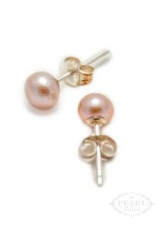 PAPPET Pearl Stud Earrings 11-12mm White Natural Freshwater Genuine Pearls Studs Earrings Jewelry Gifts For Women /& Girls