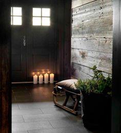 dark cozy home Cottage Interiors, Rustic Interiors, Cottage Design, House Design, Chalet Interior, Chalet Design, Winter Cabin, Cozy Cabin, Cabins And Cottages