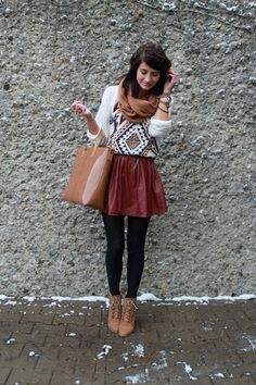 winter, fashion, outfits