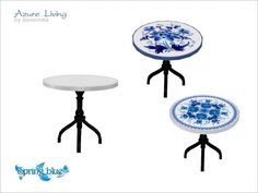 Round end table Found in TSR Category 'Sims 4 End Tables'