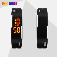 Good Deal $5.98, Buy 2017 Silicone Led Sports Watches Men Women Dress Children Electronic LED Digital Watch Man Ladies Morning Running Sport Watch