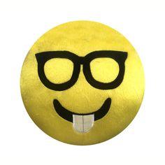 Cojín emoticon nerd   SEARS.COM.MX - Me entiende!