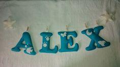 Nombre de fieltro: ALEX.