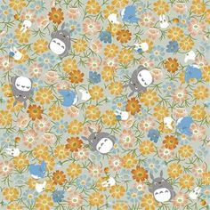 Totoro Origami Chiyogami Washi Paper Autumn by japanese2please