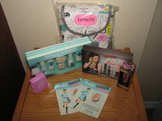 Amazing Benefit Cosmetics Backpack Makeup & Skincare - New!