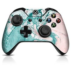 Controller Gear Paint Swirl Xbox One Controller Skin - Officially Licensed by Xbox Video Games Xbox, New Video Games, Xbox Games, Xbox One Games List, Custom Xbox One Controller, Xbox Controller, Playstation, Xbox 360, Xbox One Black