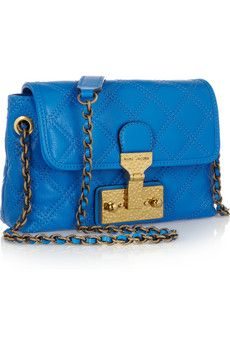 Marc Jacobs Baroque Single Quilted Leather Shoulder Bag