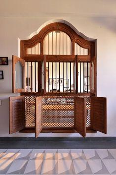 Home Room Design, Dream Home Design, Home Interior Design, Brick Interior, Minimal House Design, Small House Design, Indian Window Design, Indian Home Design, Chettinad House