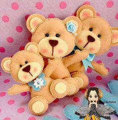 Felt bears inspiration
