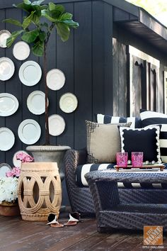 Gorgeous Backyard Makeover by @Kristin Jackson | the Hunted Interior