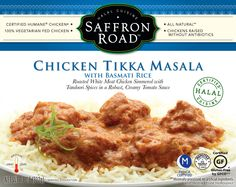 Saffron Road Chicken Tikka Masala Entree