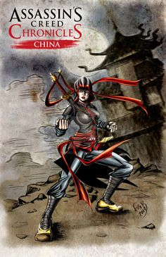 Assassins creed Chronicles Shao Jun color by terminus70.deviantart.com on @DeviantArt