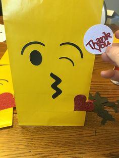 Emoji treat bag