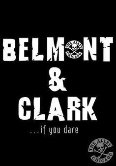 The Alley Chicago Belmont & Clark T-shirt