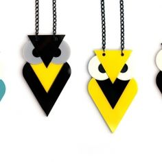 My collection is based on geometric shapes which reflect 80's style.