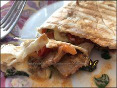 Wraps au poulet avec le snack collection Tefal Sandwiches, Snacks, Meat, Chicken, Collection, Food, Snacks Ideas, Eat, Recipe