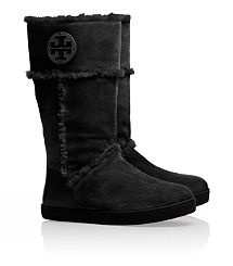I Love these boots! They are very. comfortable and stylish!   Amelie Shearling Boot - Tory Burch