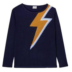 Bowie Sweater in Navy   Orwell + Austen Cashmere   Wolf & Badger  /  Women / Clothing / Knitwear