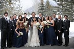 Padalecki wedding photo. I'm not gonna comment on the level of creepiness this reaches.