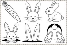 Top 21 Easter Coloring Pages Free Printable Easter Coloring Pages Printable, Easter Egg Coloring Pages, Easy Coloring Pages, Coloring Pages To Print, Easter Bunny Colouring, Easter Bunny Pictures, Easter Activities For Kids, Easter Season, Free Printable