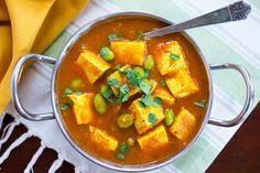 Tofu Tikka Masala with Edamame & Quinoa by Parsley In My Teeth #vegan #vegetarian