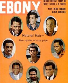 Ebony's archive on Tumblr. Bits of Black culture and history, served up Internet style. Also, Google Books has old issues online -- 1959 through the 1990s. Love...