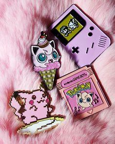 Pink Pokemon pins. cosmicmermaidpins.bigcartel.com