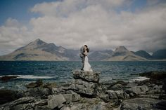 A Simple and Stunning Elopement to the Isle of Skye | Love My Dress® UK Wedding Blog