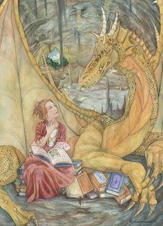 O Lobo Leitor: Dragão leitor