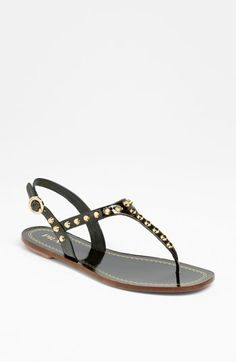 Prada Studded Thong Sandal available at #Nordstrom