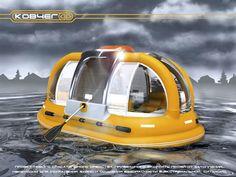 Lifesaving tool in river floods Ark (Kovcheg) by Anna Okan